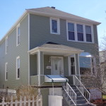 AFTER - OUTSTANDING QUALITY SIDING , BAY WINDOW AND AWNING